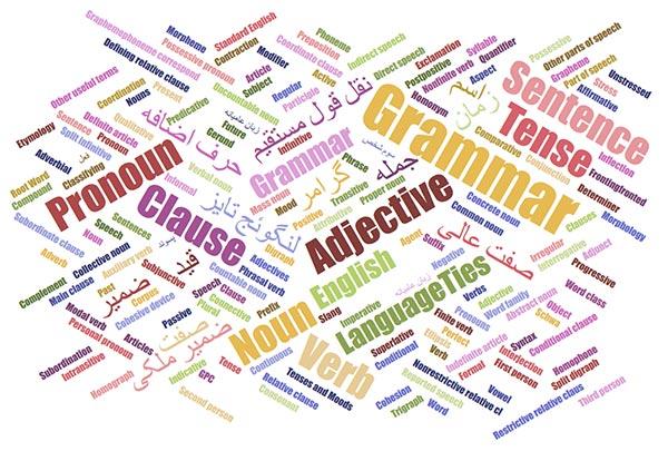 لیست اصطلاحات گرامر زبان انگلیسی با توضیحات