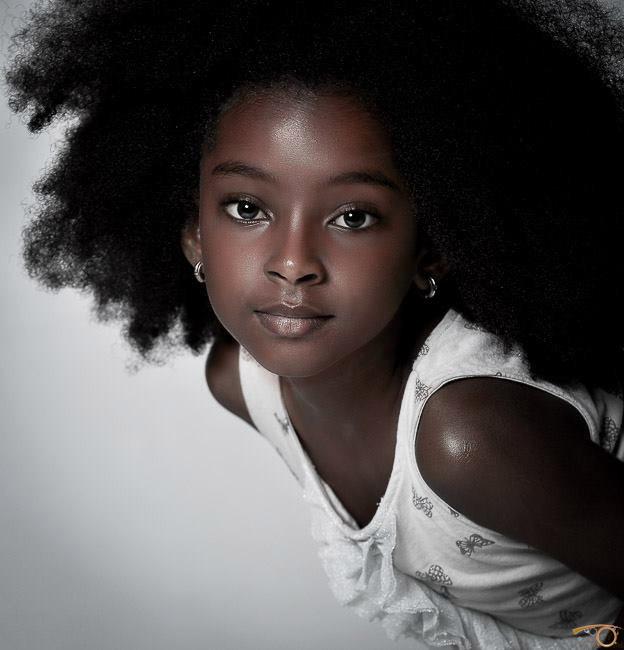شعر زيبايی از يک كودک آفريقايی