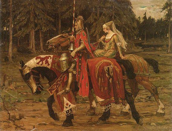 دوران آنگلوساکسون ها و قرون وسطی – گزیده ای از متن اصلی
