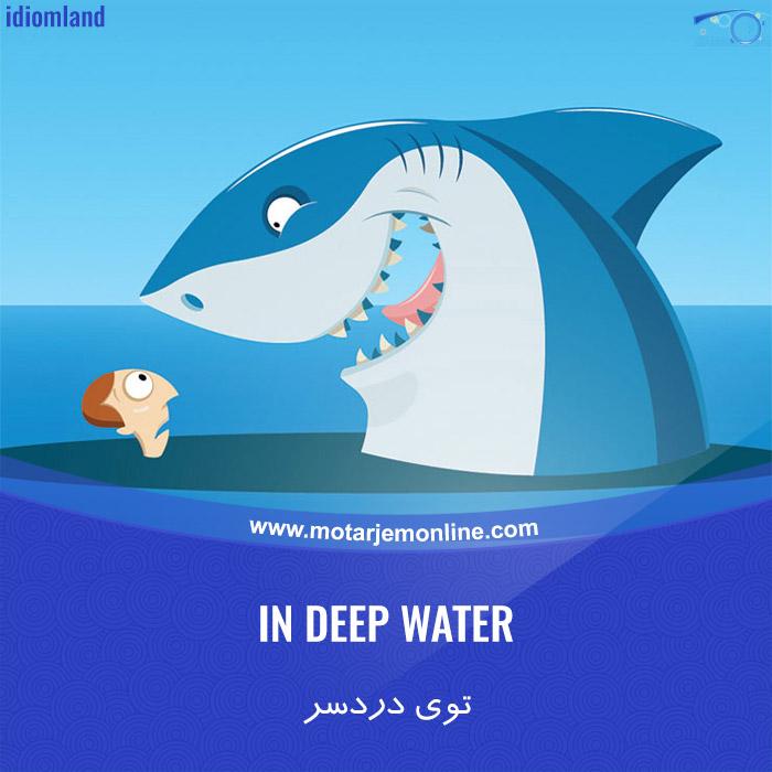 IN DEEP WATER … توی دردسر